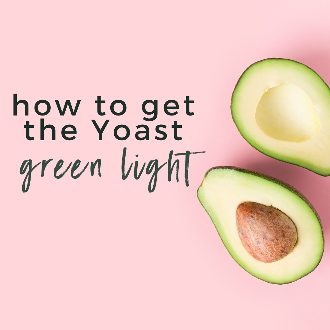 How to Get the Yoast Green Light