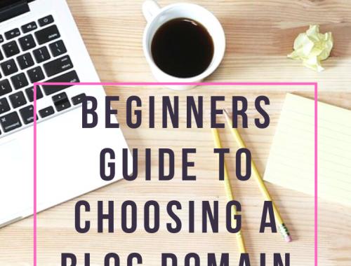 Beginners Guide to Choosing a Blog Domain Name