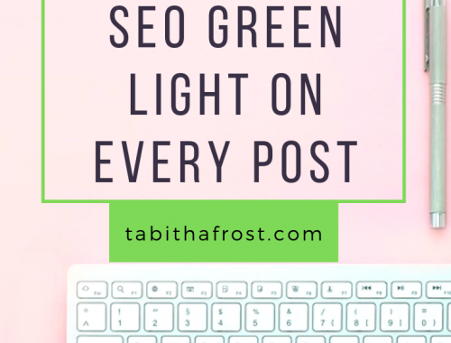 How to Get The Yoast SEO Green Light