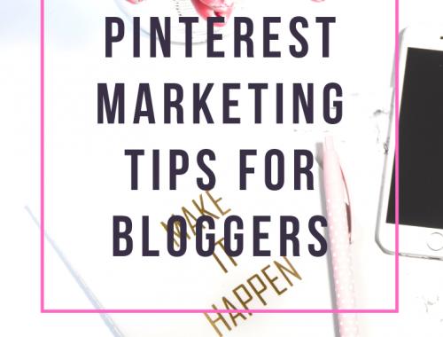 Pinterest Marketing Tips For Bloggers