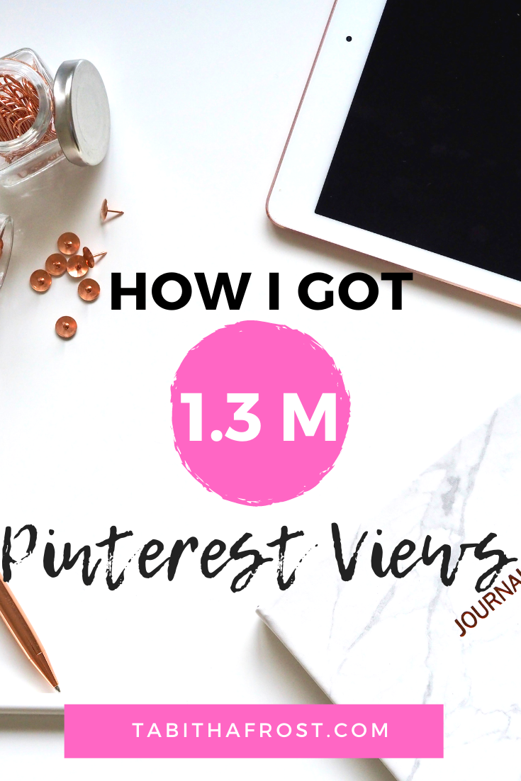 Here is how to get more monthly viewers on Pinterest. Here is how I increased my Pinterest views over 1M (one million) in just a few months. Learn how I did it by making a few simple easy changes. #pinterest #pinterestmarketing #pinning #pin