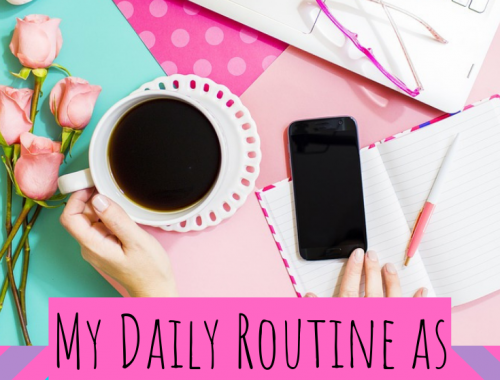 My Daily Routine as a Professional Blogger