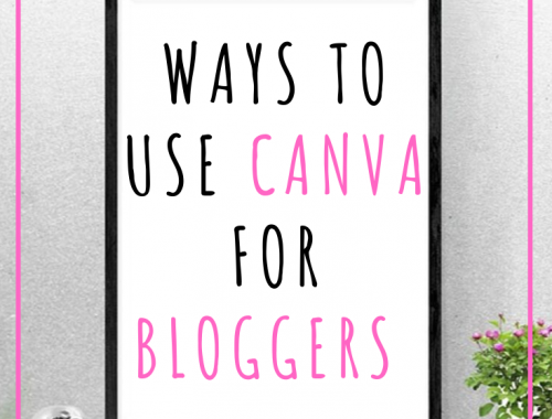 Ways to Use Canva for Bloggers