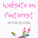 How to Claim Your Website on Pinterest