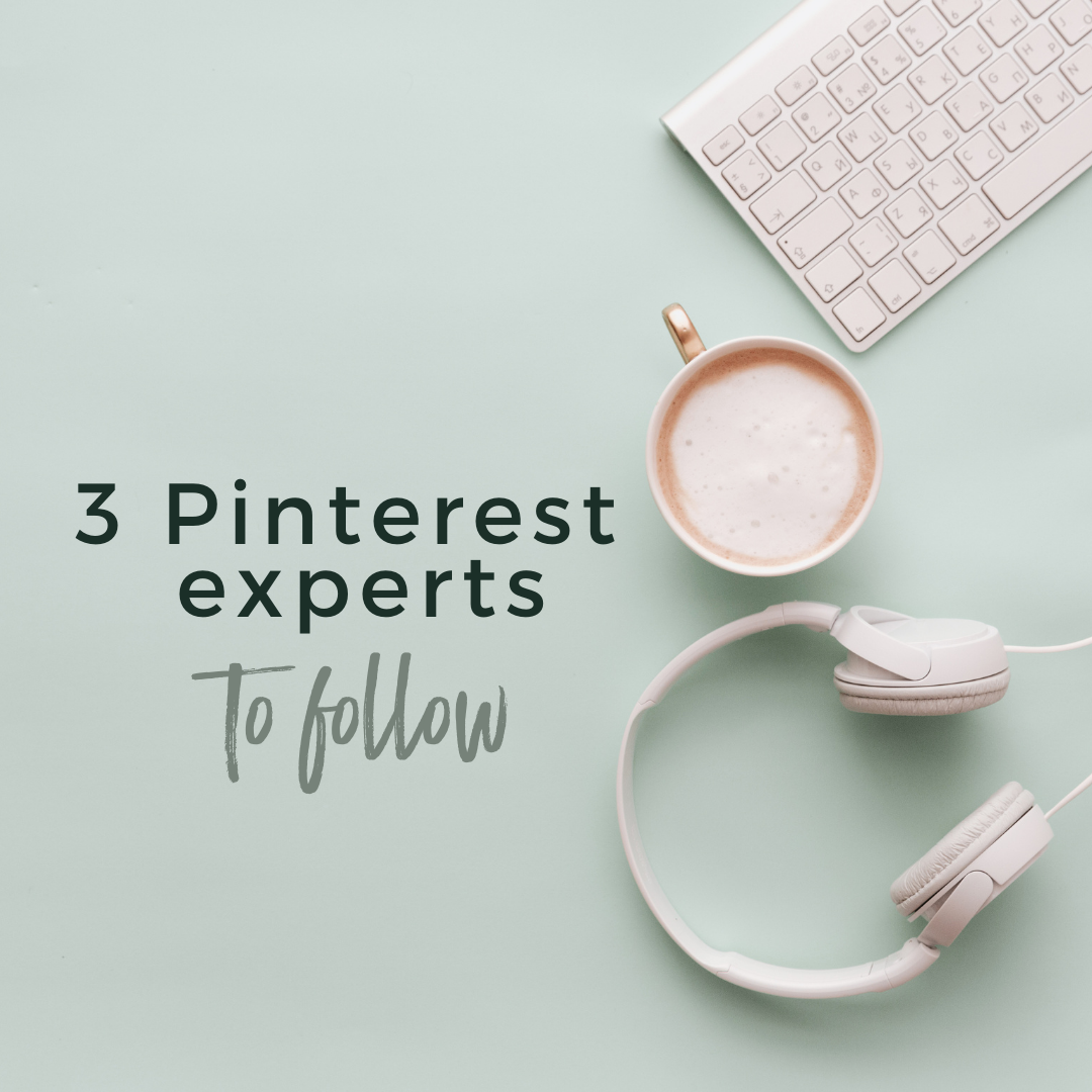 3 Pinterest Experts to Follow