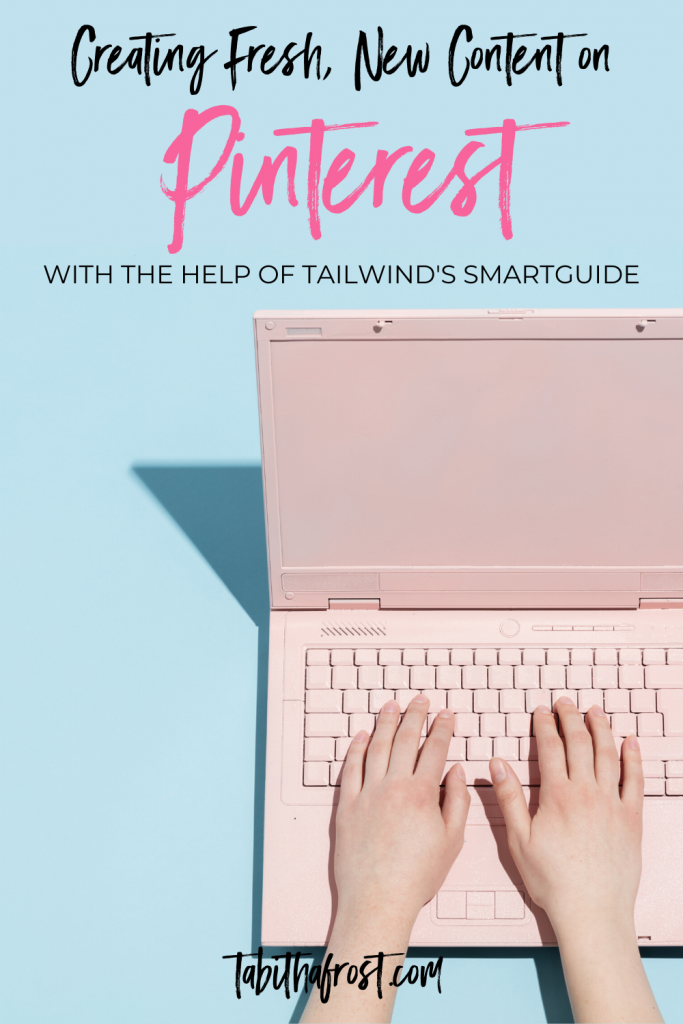 Creating Fresh New Content on Pinterest