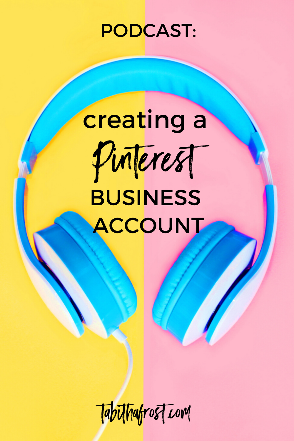 This is the Pinteresting Mom Podcast episode 4. I am your host Tabitha Frost and in this episode I am going to be talking about creating a Pinterest business account and why that is important and how you can do that. I will also be going over the recent algorithm changes and what that means for all of us as creators. #pinterest #podcast