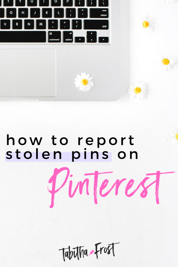 How to Report Stolen Pins on Pinterest