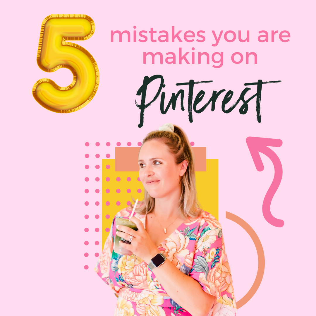 5 Common Pinterest Mistakes