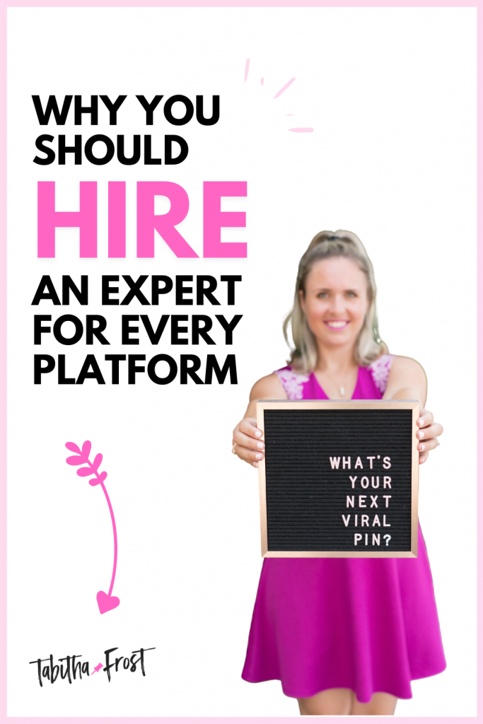 Why You Should Hire an Expert For Every Platform